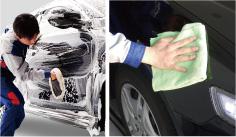 キーパーコーティング施工車限定「ミネラル取り洗車」