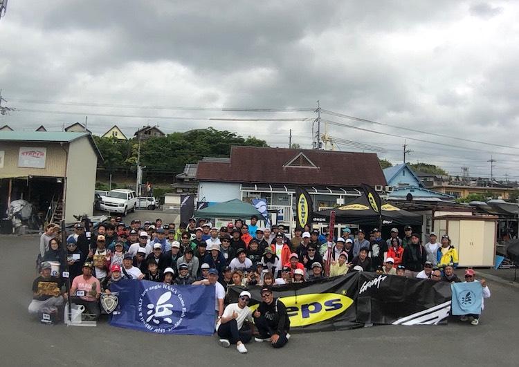 琵琶湖でバス釣りの大会に参加しました【吉岡】